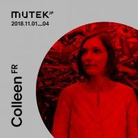 MUTEK JP 2018にColleenの出演が決定!