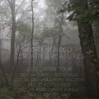 Lori Scacco & Certain Creatures Japan Tour 2019(初来日!)