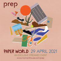 Prepのストリーミング・ライヴ『Paper World』が4/29に開催決定!
